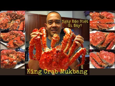 Cua Hoàng Đế Khủng! - Whole King Crab Mukbang - Thời lượng: 35:33.