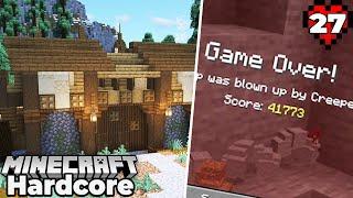I DIED in my 1000+ Day Minecraft 1.16 Hardcore Survival World