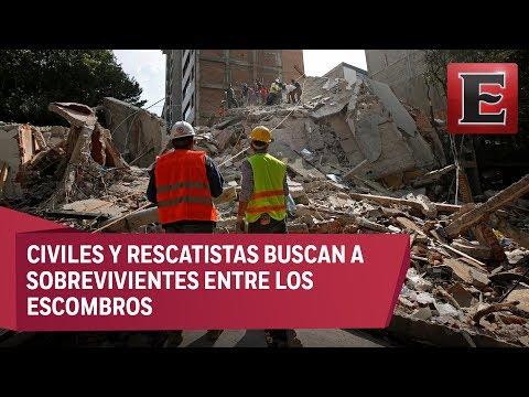 Caos, derrumbes y al menos 217 muertos por sismo en México