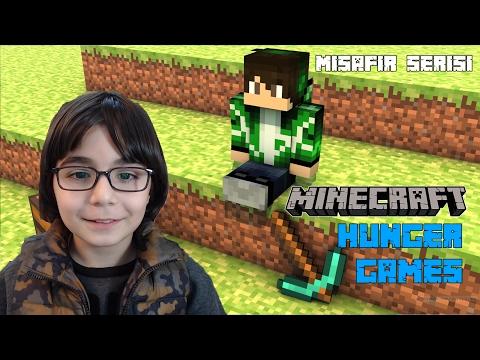 Minecraft Hunger Games Misafirimle Eğlendik - BKT
