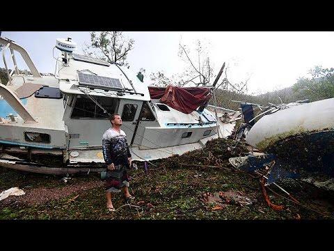 Αυστραλία: Καταστροφές από τον κυκλώνα Ντέμπι