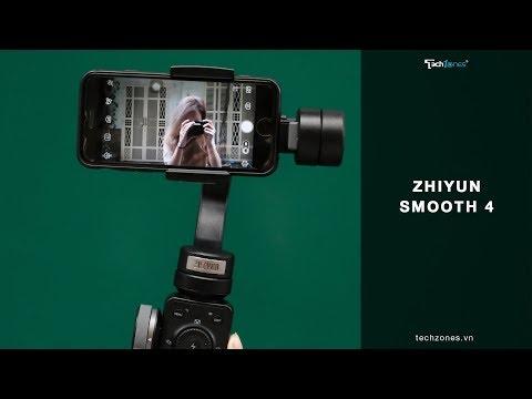 Zhiyun Smooth 4: Biến điện thoại thành máy làm phim chuyên nghiệp, tại sao không?