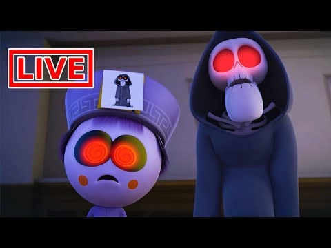 Funny Animated Cartoon | Spookiz LIVE