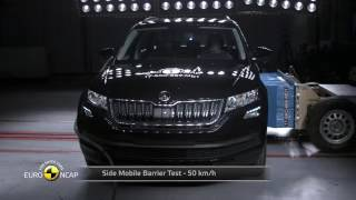 Skoda Kodiaq EuroNCAP test video