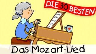 """""""Das Mozart-Lied"""" ist ein wunderbares Kinderlied aus dem Jahre 2017 mit Text zum Mitsingen. Es basiert auf einer Klassikmelodie von Wolfgang Amadeus Mozart und ist bekannt als """"Rondo alla Turca""""Dieses Lied ist auf der brandneuen Ausgabe """"DIE 30 BESTEN KINDERLIEDER MIT KLASSIKMELODIEN"""" und ist von Simone Sommerland, Karsten Glück und den Kita-Fröschen. Auf diesem Album wurde die größten Hits der Klassik in wunderbare kleine Kinderlieder gesteckt!Dies ist ein ganz liebevoll animiertes Video, welches man sich nicht oft genug anschauen kann.Unsere besten Kinderlieder-Playlisten für unterwegs, die man auch wunderbar offline anhören kann, findet ihrauf unserem Spotify-Kanal:https://bit.ly/KinderliederTop100Mehr findet ihr hier:Das Album mit dem Lied bei Amazon kaufen:♪ http://bit.ly/KinderliederKlassikmelodienFolgt uns auf Facebook:http://facebook.com/die30bestenOder besucht unsere Webseite:http://lampundleute.deDer Liedtext zum Mitsingen:Vor gut 300 Jahr'n kam ein Junge auf die Welt,sein Talent war so groß, dass man noch heut' davon erzählt.War berühmt schon als Kind, spielte Geige und Klavier.Er war jung, war genial, Amadeus, so hieß er.Mozart hatten alle lieb,denn so schön war die Musik.Am Klavier, am Klavier, da spielte er die schönsten Lieder.Schon mit vier, schon mit vier übte er den ganzen Tag.Am Klavier, am Klavier, da spielte er die schönsten Lieder.Und man hört sie noch heute, weil ein jeder Mozart mag.Er war viel unterwegs, fuhr nach München und nach Wien.Kaiser Franz lud ihn ein, und da spielte er für ihn.Mozart hatten alle lieb,Und er schrieb Sinfonien, hat auch Opern komponiert.Seine Lieder und Sonaten haben jeden fasziniert.denn so schön war die Musik.Am Klavier, am Klavier, ...Am Klavier, am Klavier, ..."""