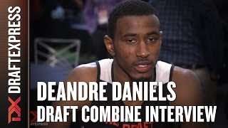 DeAndre Daniels NBA Draft Combine Interview