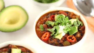 Quick Vegetarian Chili- Everyday Food with Sarah Carey by Everyday Food