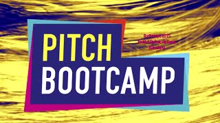 Pitch Bootcamp @ IQS - 8 y 9 Mayo 2015 Barcelona