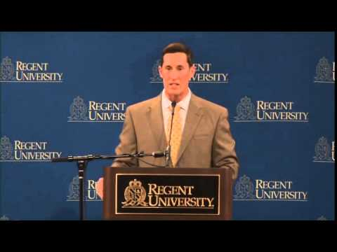 Donovan Campbell at Regent University Executive Leadership Series