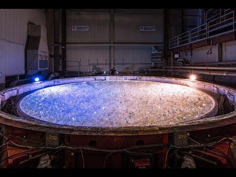 Valtavan teleskoopin valmistus – Hurjan kokoinen!