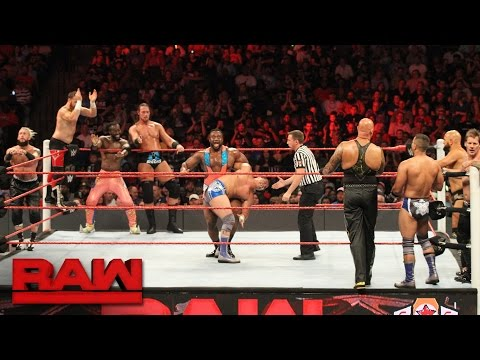 10-Man Tag Team Match: Raw, Sept. 19, 2016