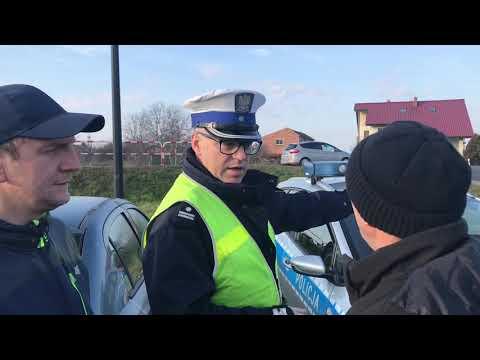 Wideo1: Protest rolników w Lipnie