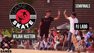 PJ Ladd vs. Nyjah Huston Game of Skate Semis - X Games