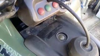 10. 2003 Honda Rancher 350 4x4 - Cheap Ebay Ignition vs OEM Honda Ignition