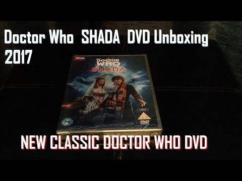 Docotor Who  Shada DVD 2017 NEW!!! Unboxing