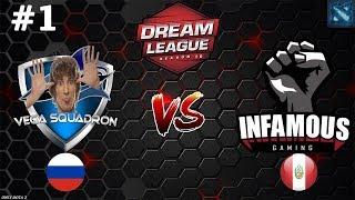 Vega (Lithium) vs Infamous #1 (BO3)   DreamLeague Season 10
