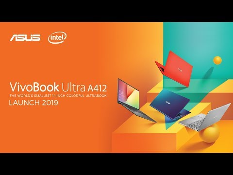 VivoBook Ultra A412 - Live Launching Event