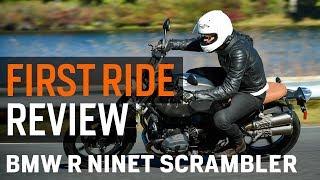 3. BMW R nineT Scrambler First Ride Review at RevZilla.com
