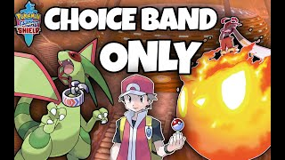 I topped the ladder with ONLY CHOICE BAND POKEMON by Thunder Blunder 777