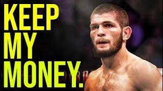 Video KHABIB THREATENS TO LEAVE UFC! MP3, 3GP, MP4, WEBM, AVI, FLV Oktober 2018