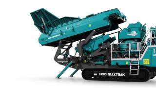 Animation of the new Powerscreen 1150 Maxtrak cone crusher