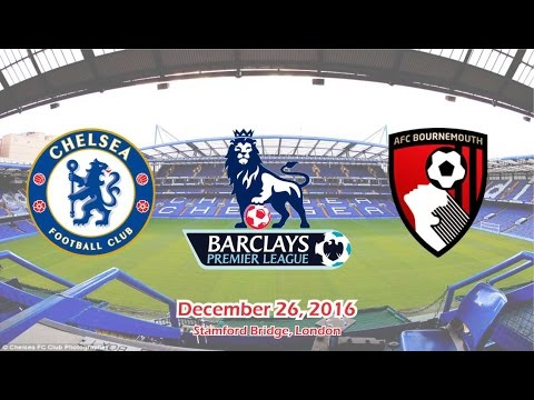 Chelsea vs Bournemouth 3-0 All Goals & Highlights 26/12/2016 | Premier League 2016/2017