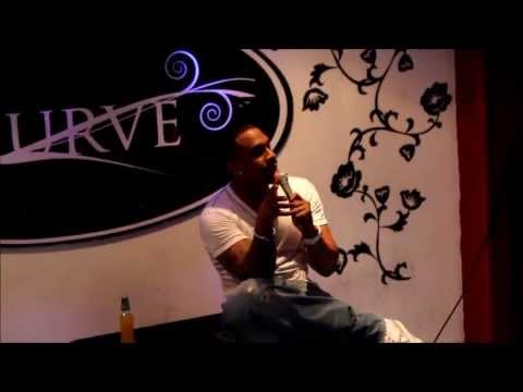 comedy at curve with Richard Blackwood