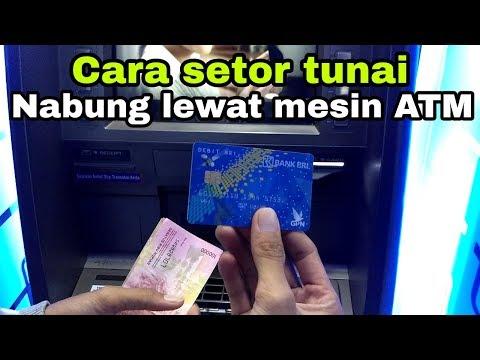 Cara setor tunai di ATM BANK BRI
