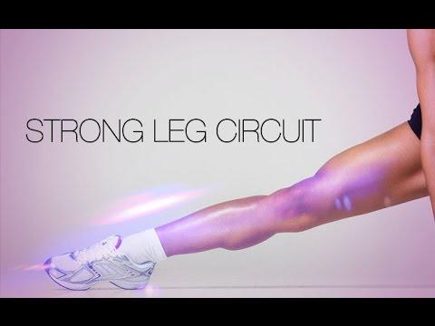 Best Bodyweight LEG WORKOUT (Women's Body Weight Beast!!)