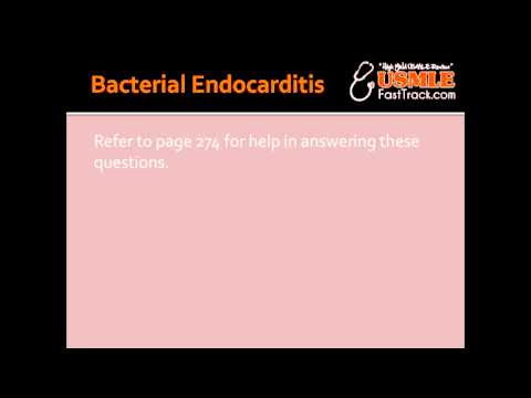 Bacterial Endocarditis – Acute & Subacute