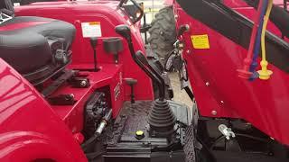 3. 2019 Mahindra 4540 4w/d  w/loader and backhoe
