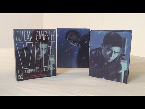 Outlaw: Gangster VIP The Complete Collection - Arrow Video - Blu Ray Unboxing And Review