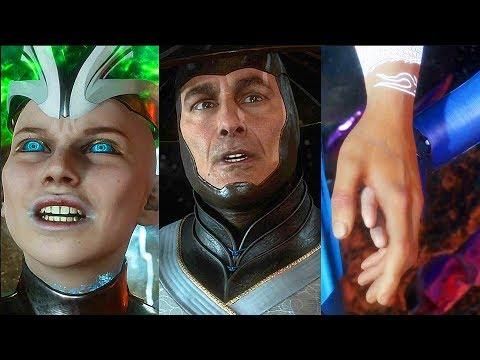 Mortal Kombat 11 All 3 Story Endings (SECRET Ending) MK11 Final Boss - Thời lượng: 4 phút và 51 giây.