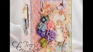 For Sale on eBay: http://www.ebay.com/itm/Graphic-45-Secret-Garden-Handmade-Mini-Photo-Album-by-Terry-/252847596627? Link to the Tutorial: ...