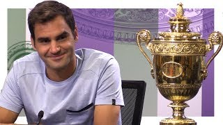 Wimbledon champion Roger Federer speaking after Sunday's win over Marin Cilic. Please subscribe, like the video and share wherever you can! If you want to ...