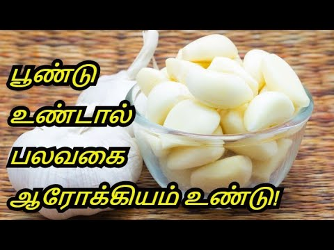 Video Benefits Of Garlic | Raw Garlic - Vellai Poondu | Vellai Poondu Nanmaigal | Healthy Life - Tamil. download in MP3, 3GP, MP4, WEBM, AVI, FLV January 2017