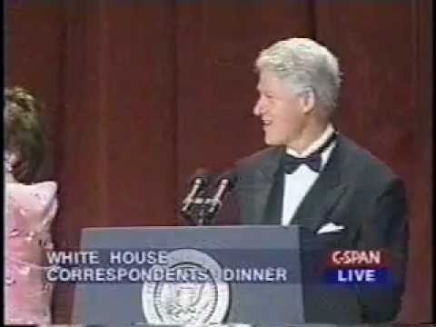 Bill Clinton Bids Farewell at the 2000 White House Correspondents' Dinner