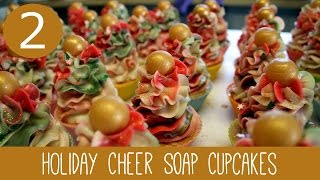 Christmas Soap Cupcakes | Royalty Soaps - YouTube