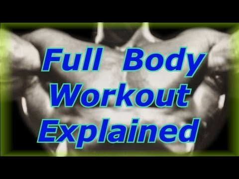 Full Body Workout Explained – Bodybuilding Tips To Get Big