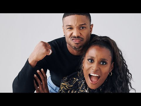 Issa Rae And Michael B Jordan Actors On Actors Full Discussion Hollywood Goodfella