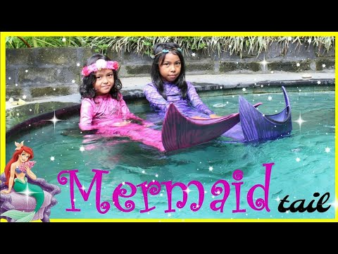 DONGENG PUTRI DUYUNG DAN TONGKAT AJAIB ♥ Live Mermaids In Our Pool