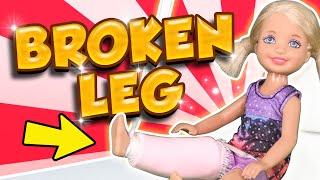 Video Barbie - Chelsea's Broken Leg   Ep.105 MP3, 3GP, MP4, WEBM, AVI, FLV Juli 2018