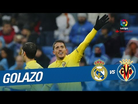 Golazo de Fornals (0-1) Real Madrid vs Villarreal CF