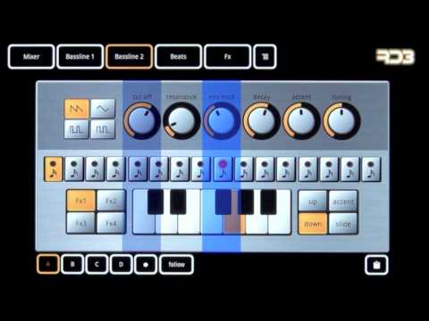 Video of RD3 Demo - Groovebox