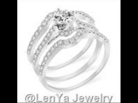 cubic zirconia wedding sets, yellow gold engagement rings, online jewelry stores