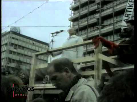 Berlin 1989: 4. November 1989: Alexanderplatz - Demonst ...