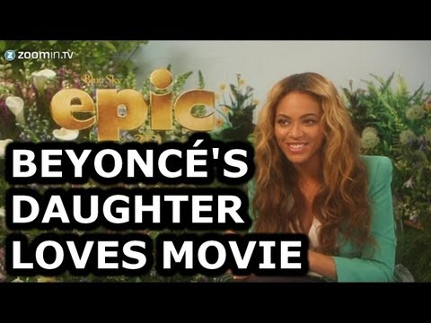 Beyoncé spills the beans on animated movie Epic