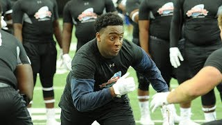 Rob Cassidy breaks down defensive lineman T.K. Chimedza and his commitment to the Yellow Jackets.