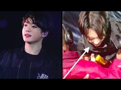 Jungkook Was Mobbed During BTS' Concert In Paris