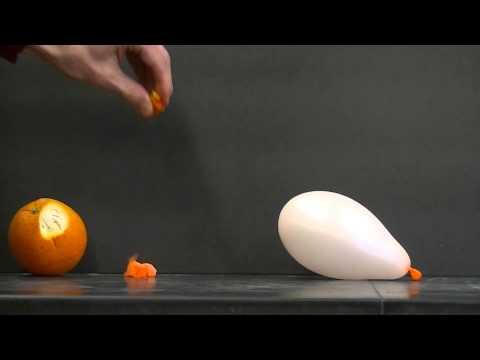 注意!當氣球遇到橘子時,竟然會出人命!
